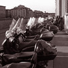 "CULTURE<br /> Title: Motociclette lined up in front of Ponte Vecchio<br /> Photographer: Maggie Miller<br /> Place: Florence, Italy<br /> Program: Junior Year in Munich (JYM) Program, at the Ludwig Maximilian Universität<br /> <br /> <a href=""http://www.prepyou.org/Readnews.asp?fid=08486782"">http://www.prepyou.org/Readnews.asp?fid=08486782</a>"