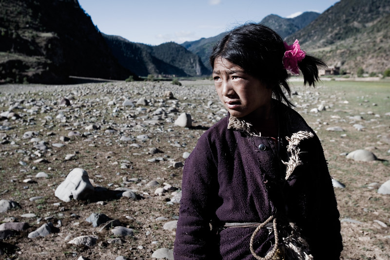Young horse handler - eastern Tibet, China
