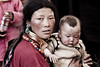 Mother and child - eastern Tibet