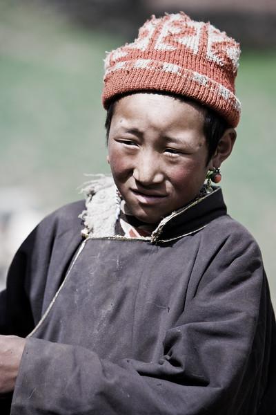 Young horse handler - Eastern Tibet