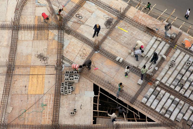 Construction site - Addis Ababa, Ethiopia