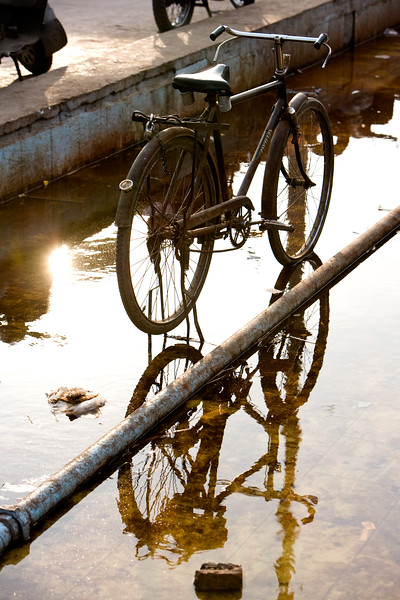 Old bicycle - Delhi, india