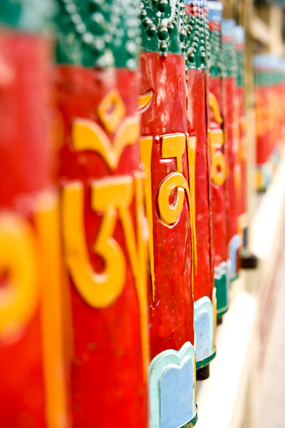 Prayer wheels - Dharamsala, India