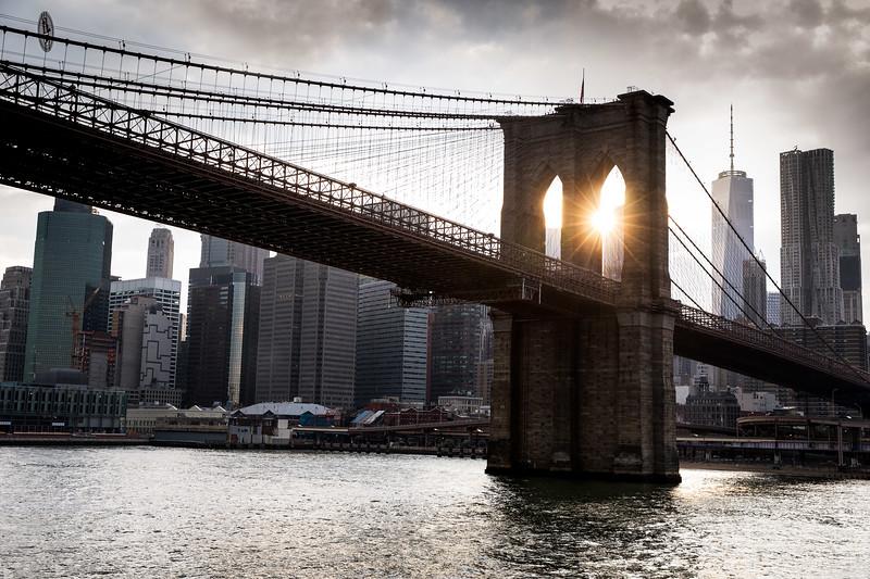 Brooklyn Bridge, New York City - July 2017