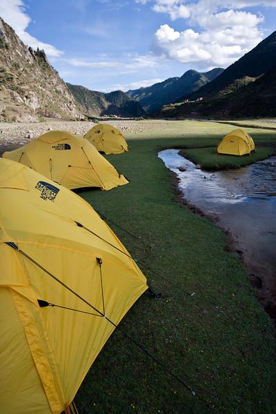 Campsite - eastern Tibet