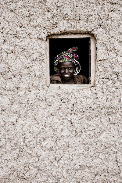 Peek-a-boo! - Gatsibo District, Rwanda