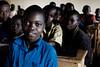 Pupil at Rubona Primary School - Gatsibo District, Rwanda