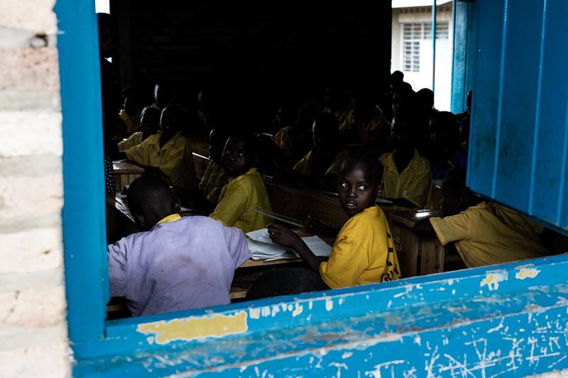 School classroom - near Rwamagana, Rwanda
