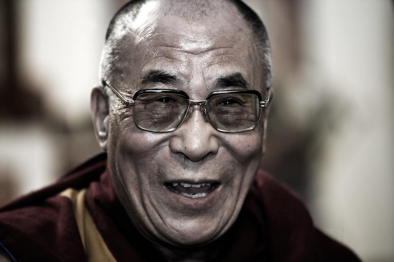His Holiness The Dalai Lama - Dharamsala, India