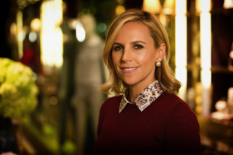 Tory Burch - the American fashion designer, business woman and philanthropist