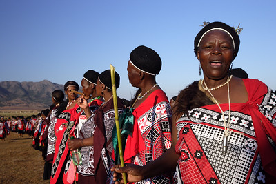 Swaziland Reed Dance