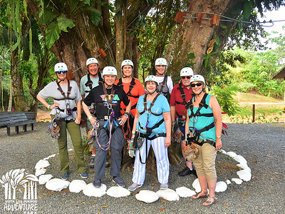 Our 8 First Friends Who Ziplined