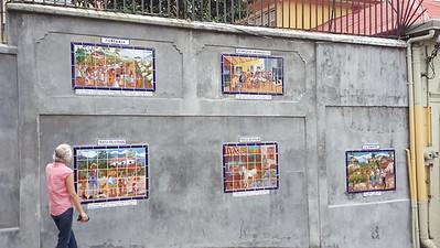 Tile Paintings Depicting Costa Rica Rural Life