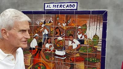 Tile Paintings Depicting CR Rural Life