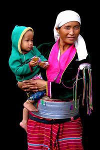 PALAUNG MOTHER - SHAN STATE