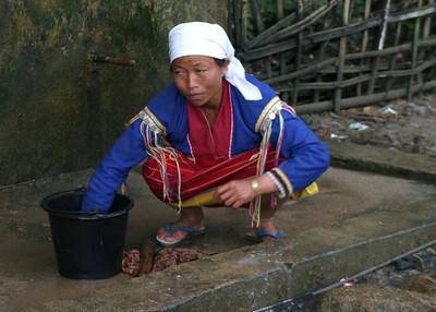 PALAUNG LADY - SHAN STATE