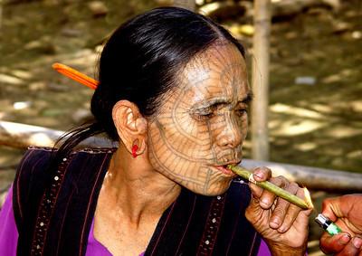 CHIN LADY - RAKHINE STATE