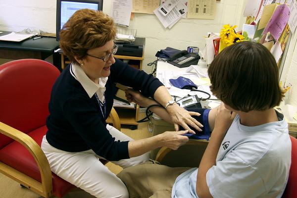 Cecilia Manta, PWHS school nurse