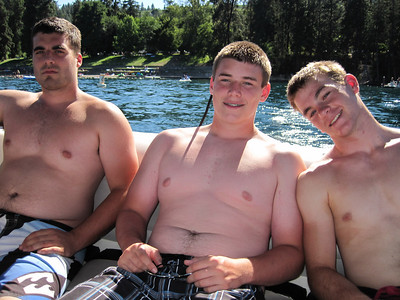 Tracy Clan at Lake Chelan 2010