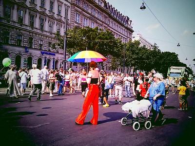 Rainbow Parade in Vienna (07/2010)