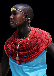 SAMBURU LADY - KENYA