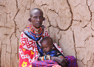MASAI GRANDMOTHER - KENYA