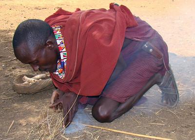 MASAI MAN - KENYA
