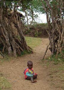 MASAI BABY - KENYA
