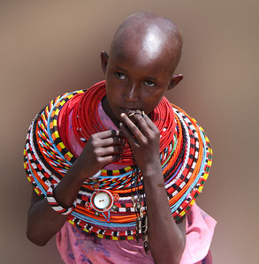 SAMBURU GIRL - KENYA