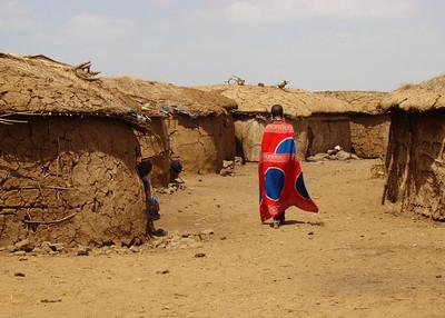 MASAI VILLAGE - KENYA