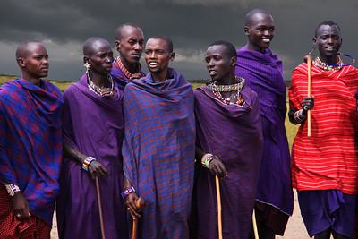 MASAI MEN - KENYA