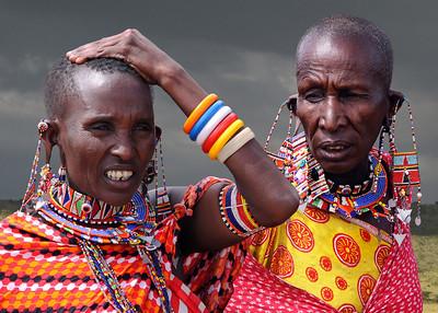 MASAI LADY - KENYA