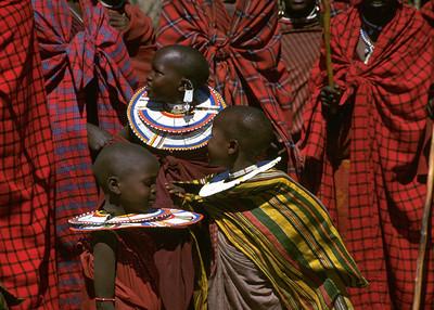 MASAI GIRLS - TANZANIA