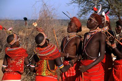 SAMBURU DANCERS - KENYA