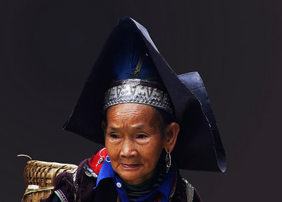 HILLTRIBE LADY - BAC HA, VIETNAM