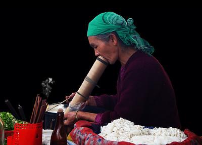 OPIUM SMOKER - BAC HA, VIETNAM