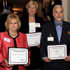 Celebrating milestones with the EMCCC are Kathleen McCafferty, HELPsource Home Health Services, five years, Barbara Gross, Ameriprise Financial Service, Inc., 20 years, and Carl Shelow, AFLAC, five years.<br /> Bob Raines 5/19/10