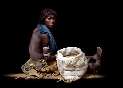 HAMAR LADY - OMO VALLEY