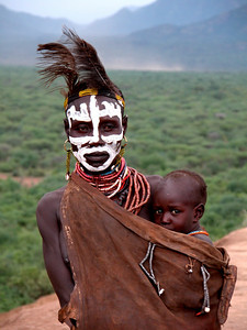 KARO GIRL - OMO VALLEY