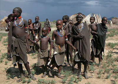 ARBORE VILLAGE - OMO VALLEY