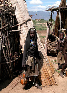ARBORE GIRL - OMO VALLEY