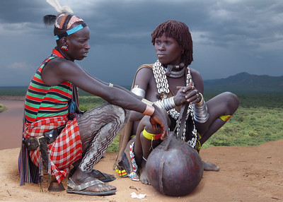 KARO COUPLE - OMO VALLEY