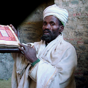 ORTHODOX PRIEST - LALIBELA
