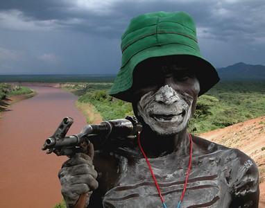 KARO MAN - OMO RIVER