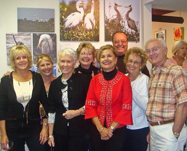 MY ART SHOW - NOVEMBER 2009 ARTIST GUILD GALLERY - ANNA MARIA ISLAND BECKY, PATSY, CAROL, RONDA, PAULINE, TONY, ELLY, DIK