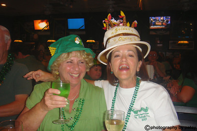 PATSY and ANITA CELEBRATING ST. PAT'S DAY at BEEF O'BRADY'S '09