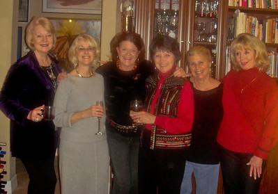 women of SAND CRANE COURT ELAINE, SANDY, NANCY, NANCY, PATSY, DIANNE