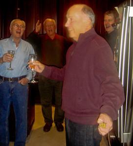 IT'S LARRY'S BIRTHDAY!!!!!!!! singing to Larry: dik, john, bob