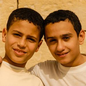Boys, Alexandria, Egypt