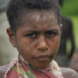 Girl, Papua New Guinea